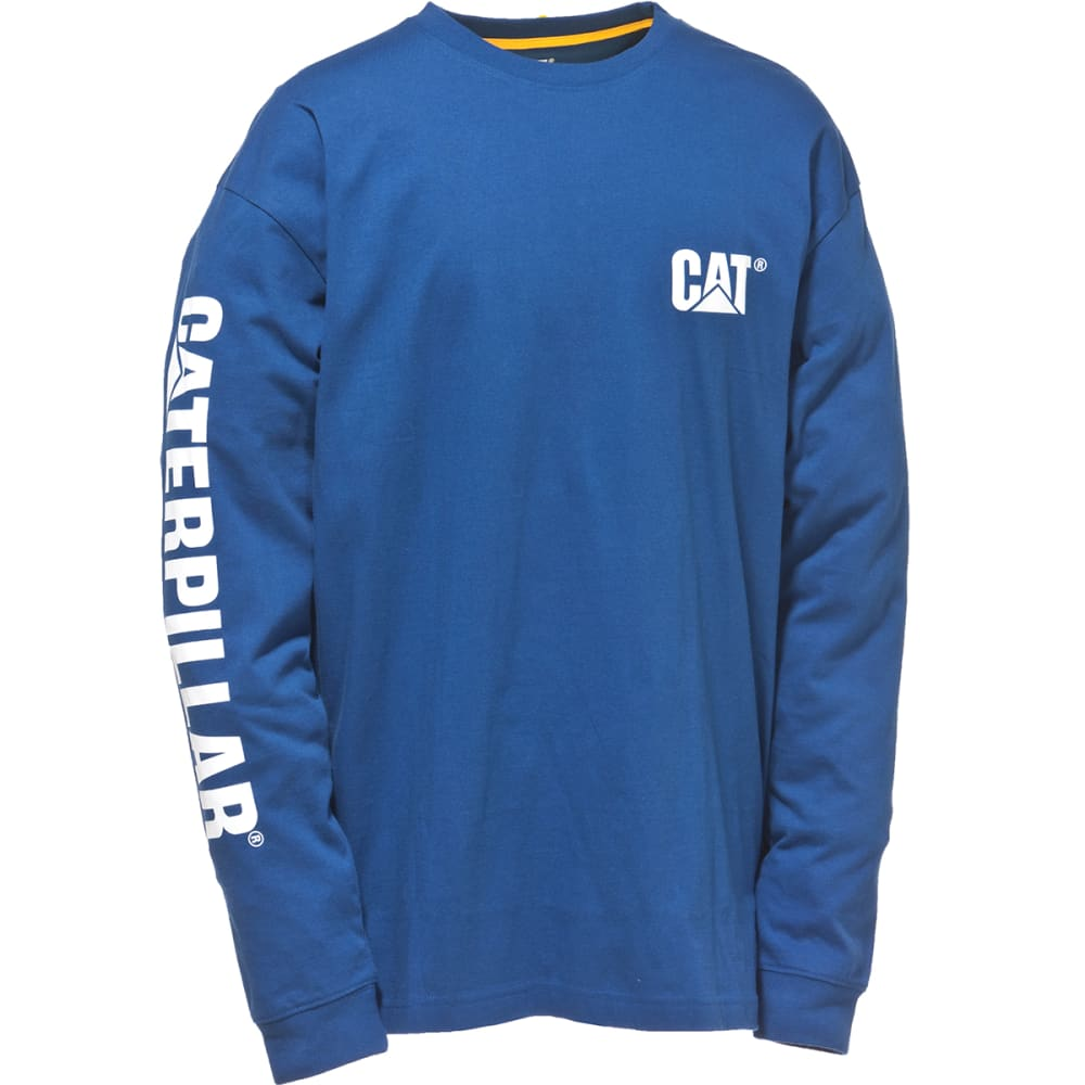 CAT Men's Trademark Banner Long-Sleeve Tee - 95 B BT BL