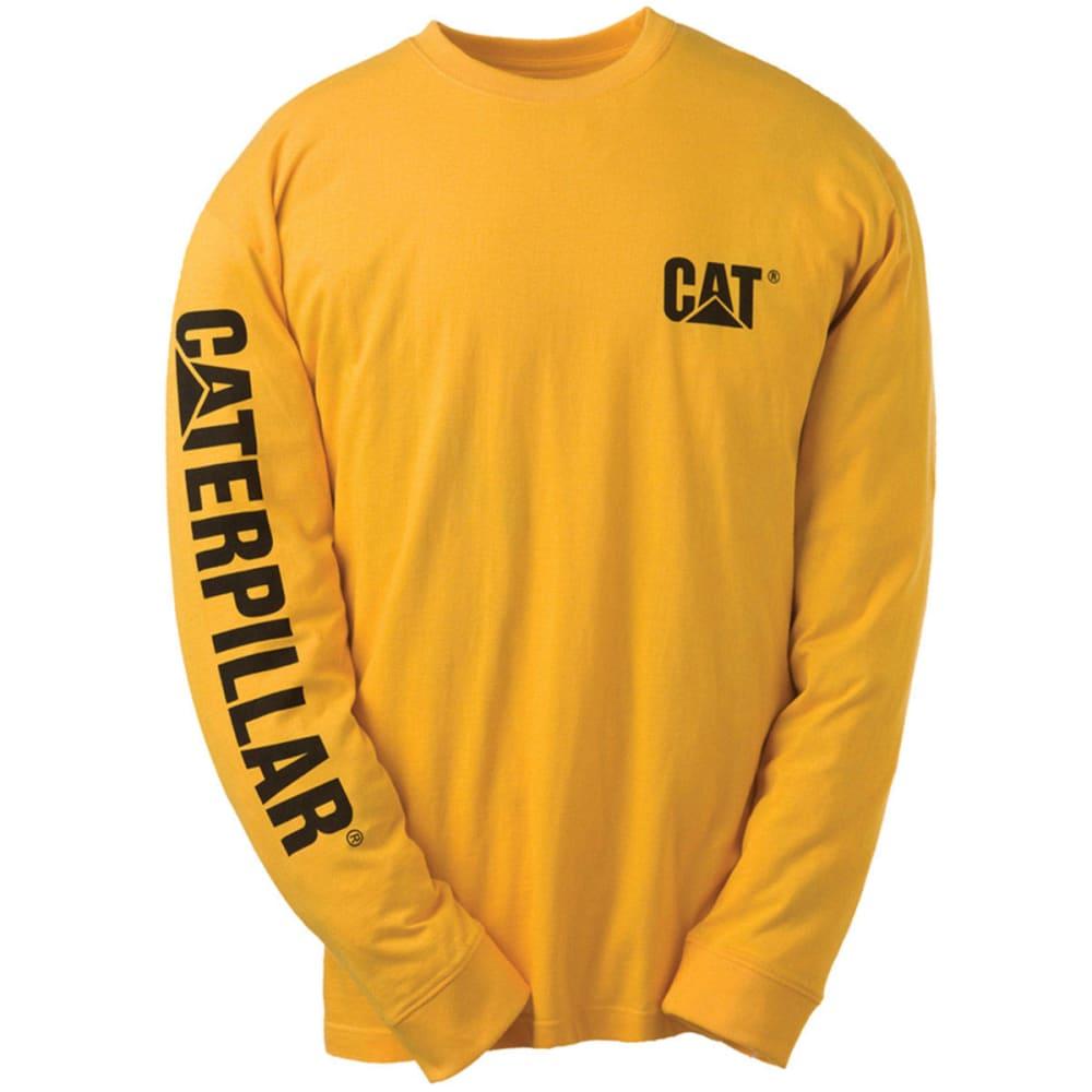 CAT Men's Trademark Banner Tee - 555 YELLOW