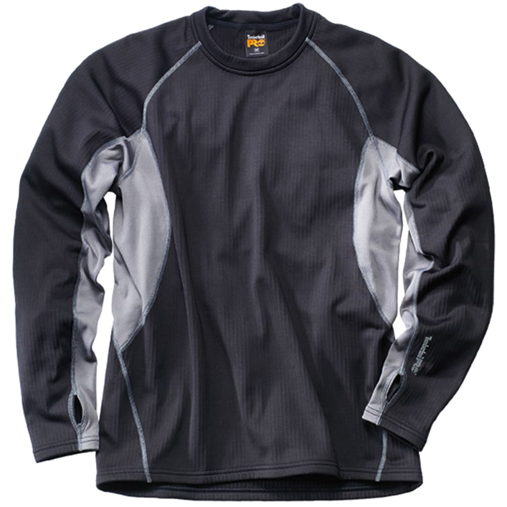 TIMBERLAND PRO Men's Skim Coat Thermal Performance Top - JET BLACK