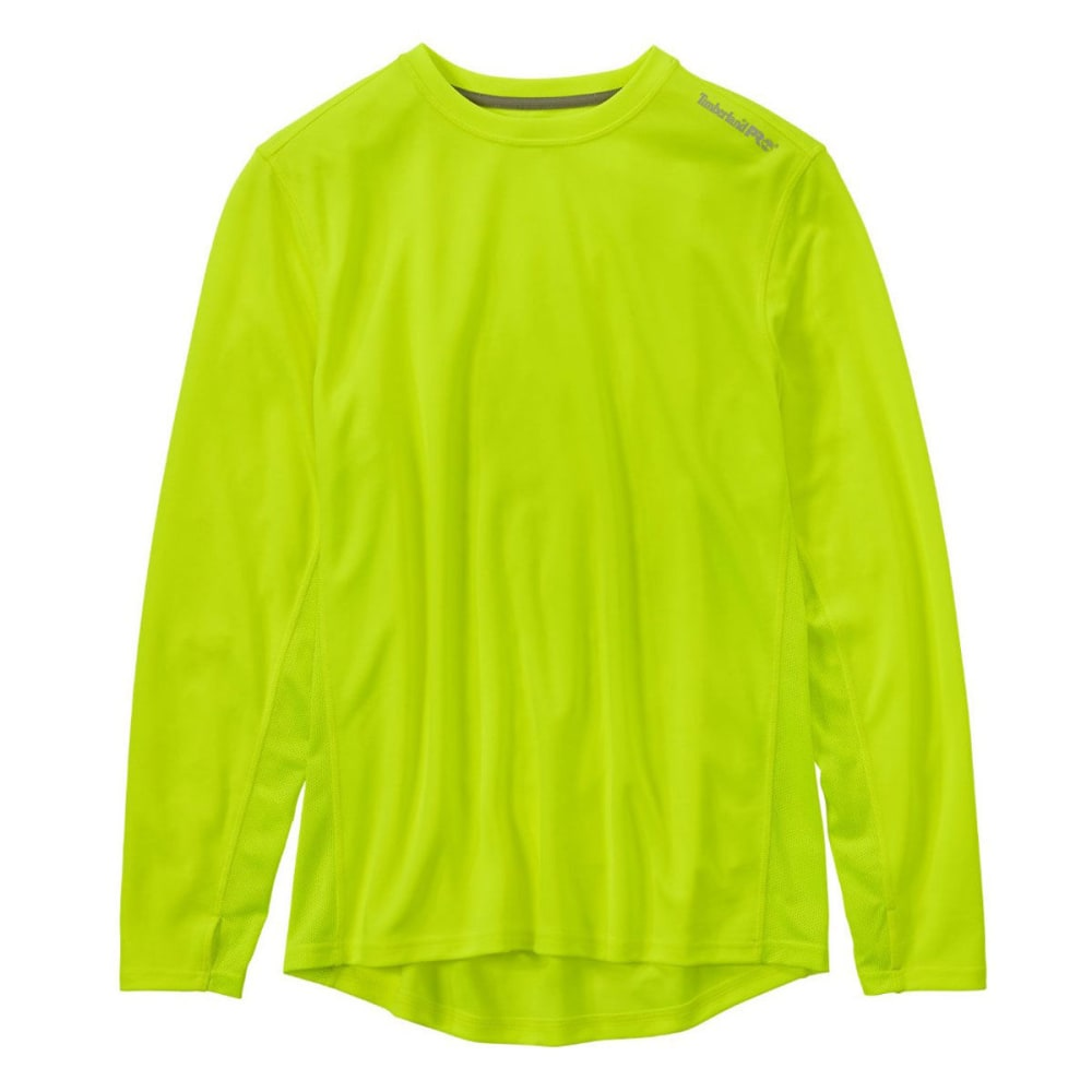 TIMBERLAND PRO Men's Wicking Good Long Sleeve Tee Shirt - C77 PRO YELLOW