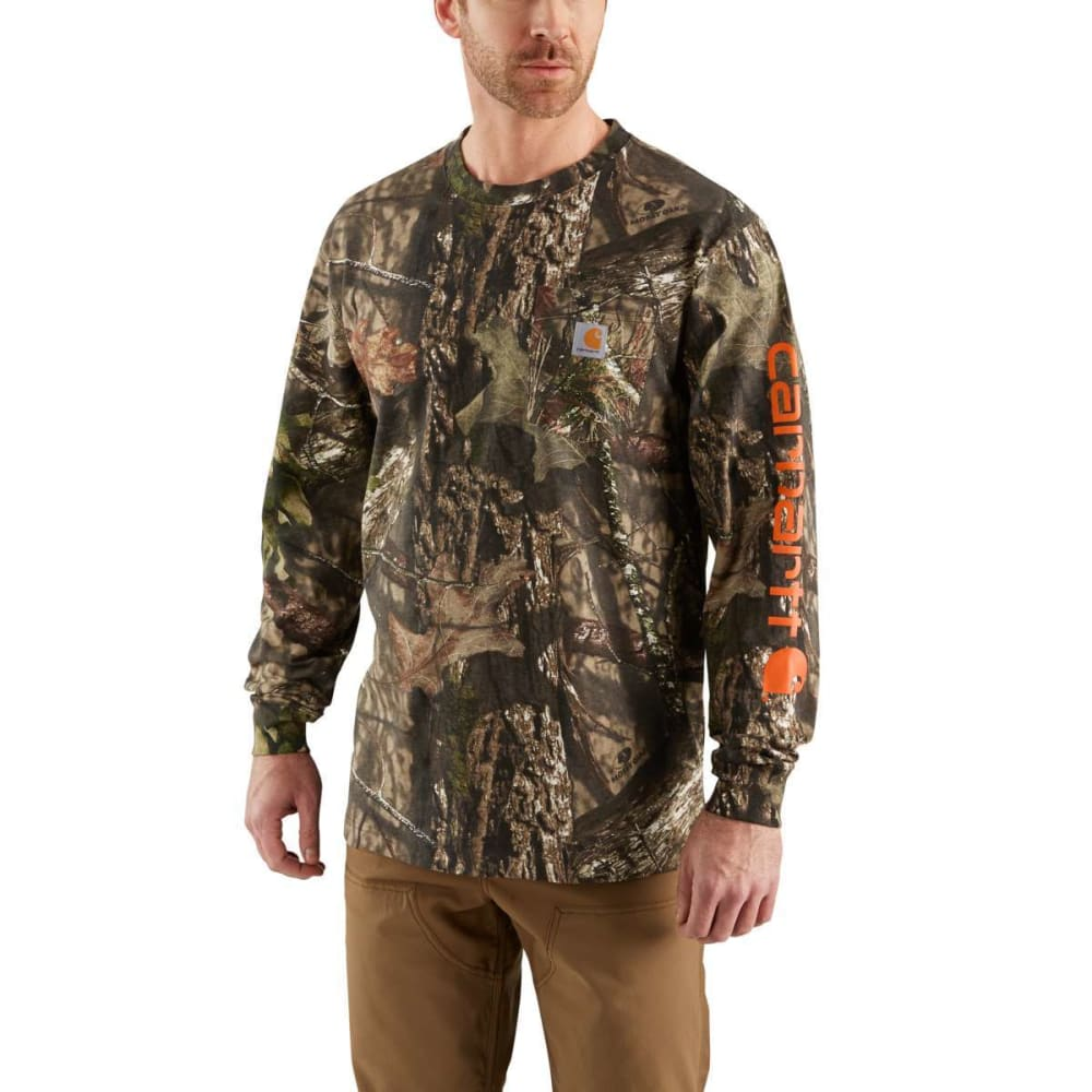 63db7a10 CARHARTT Men's Workwear Camo Long-Sleeve Tee