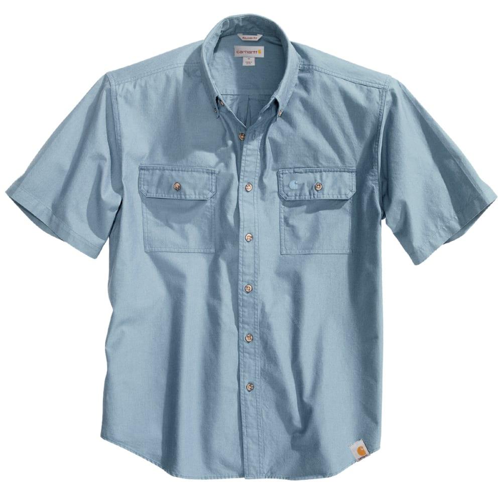 CARHARTT Men's Short-Sleeve Chambray Shirt - CHAMBRAY