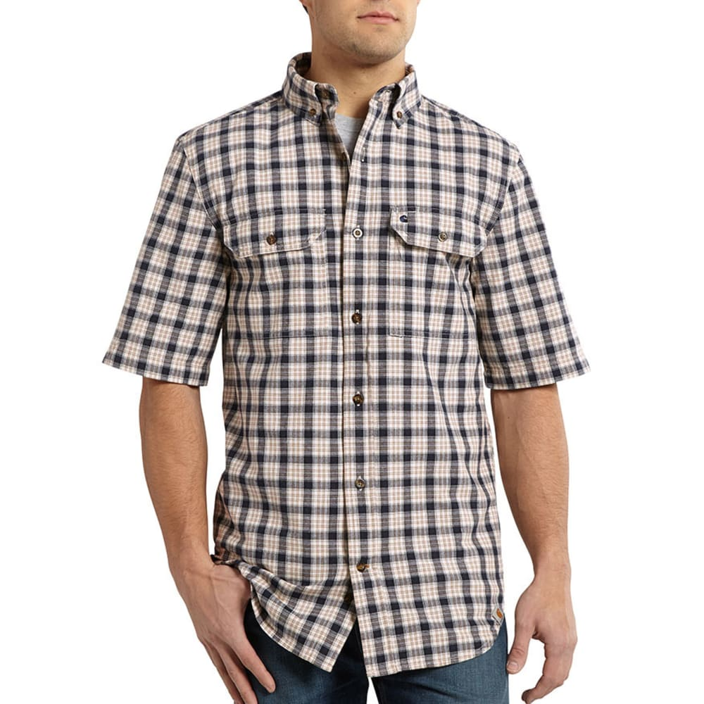 CARHARTT Men's Fort Plaid Shirt - NATURAL