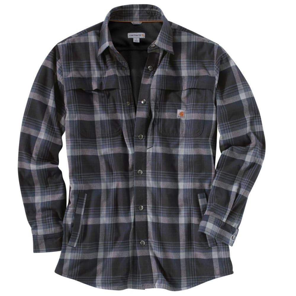 CARHARTT Men's Force® Reydell Long-Sleeve Shirt - BLACK