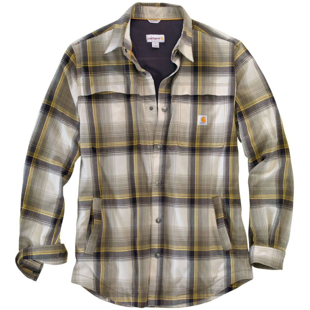 CARHARTT Men's Force® Reydell Long-Sleeve Shirt - MOSS