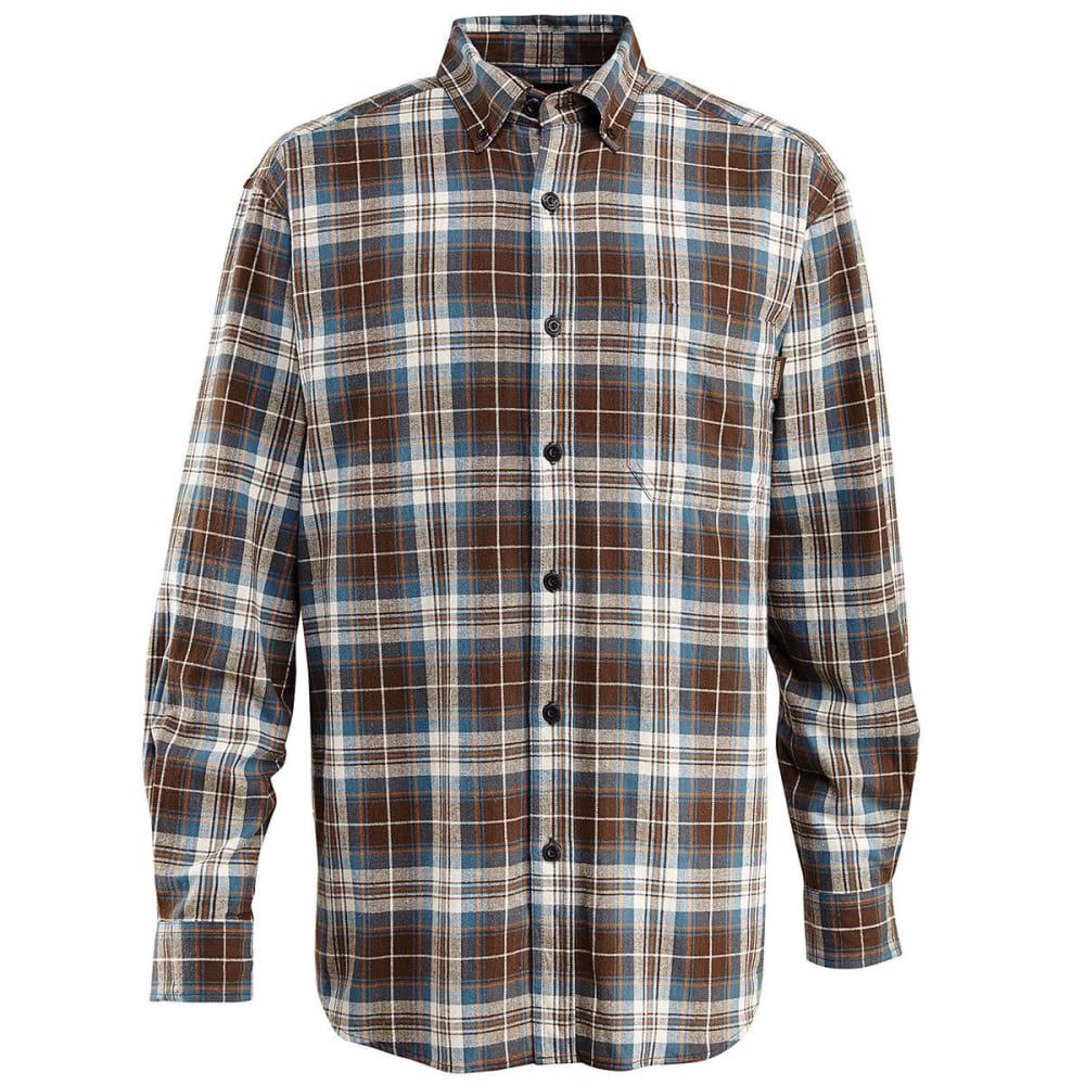 WOLVERINE Men's Rogan Long Sleeve Flannel Shirt - 413 BERING
