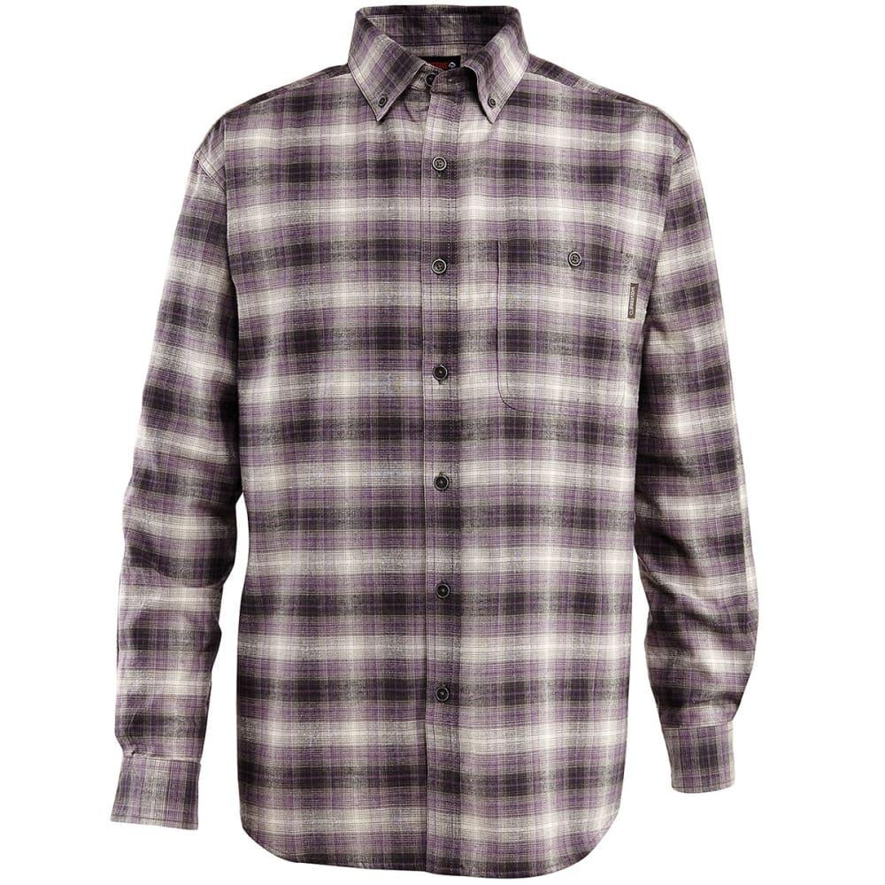 WOLVERINE Men's Long Sleeve Plaid Shirt - 023 LEAD P