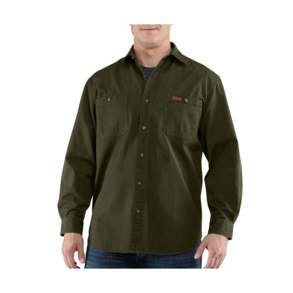 CARHARTT Men's Trade Shirt - ARMY GREEN