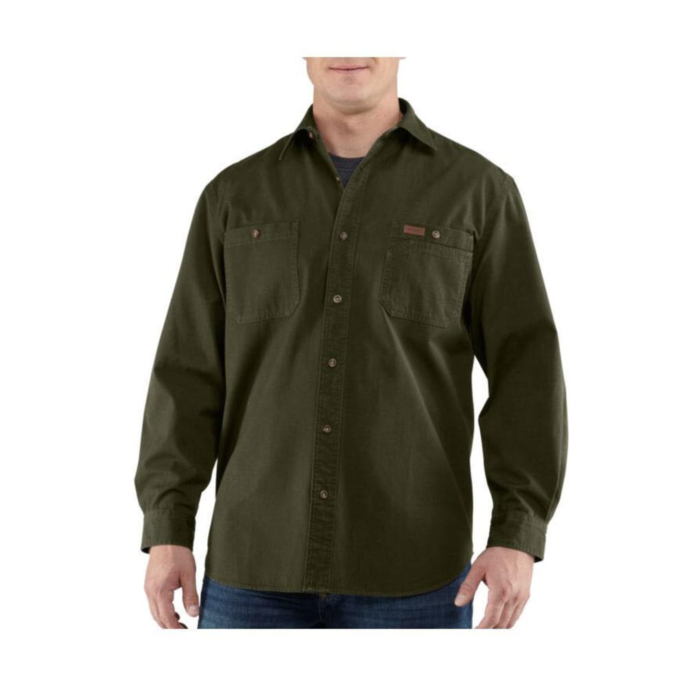 CARHARTT Men's Trade Shirt - ARMY GREEN