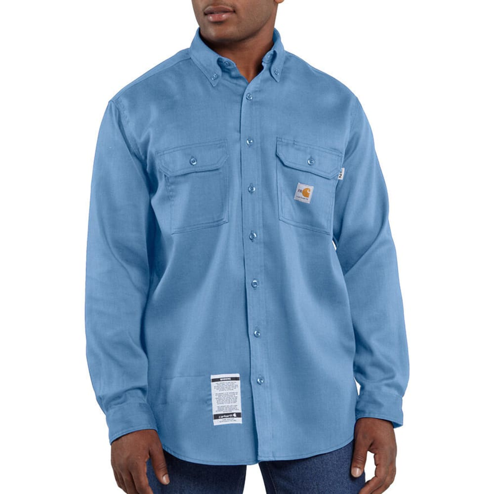 CARHARTT Men's Flame-Resistant Lightweight Twill Shirt S
