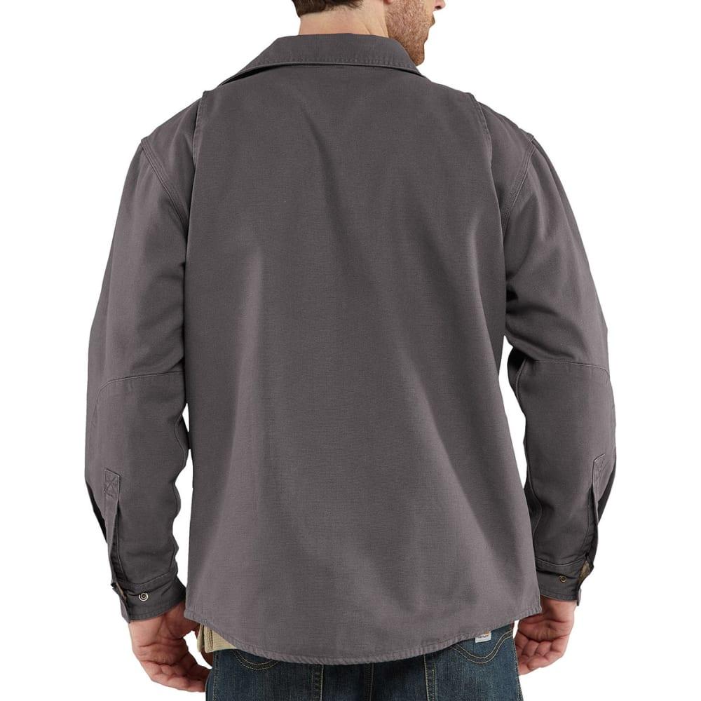 CARHARTT Men's Weathered Canvas Shirt Jac - 039 GRAVEL