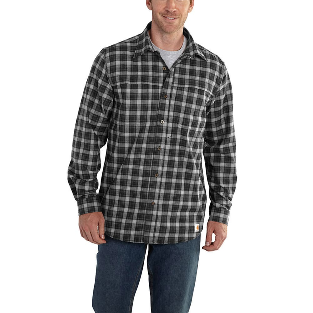 Carhartt Men's Force Reydell Shirt - Black, L