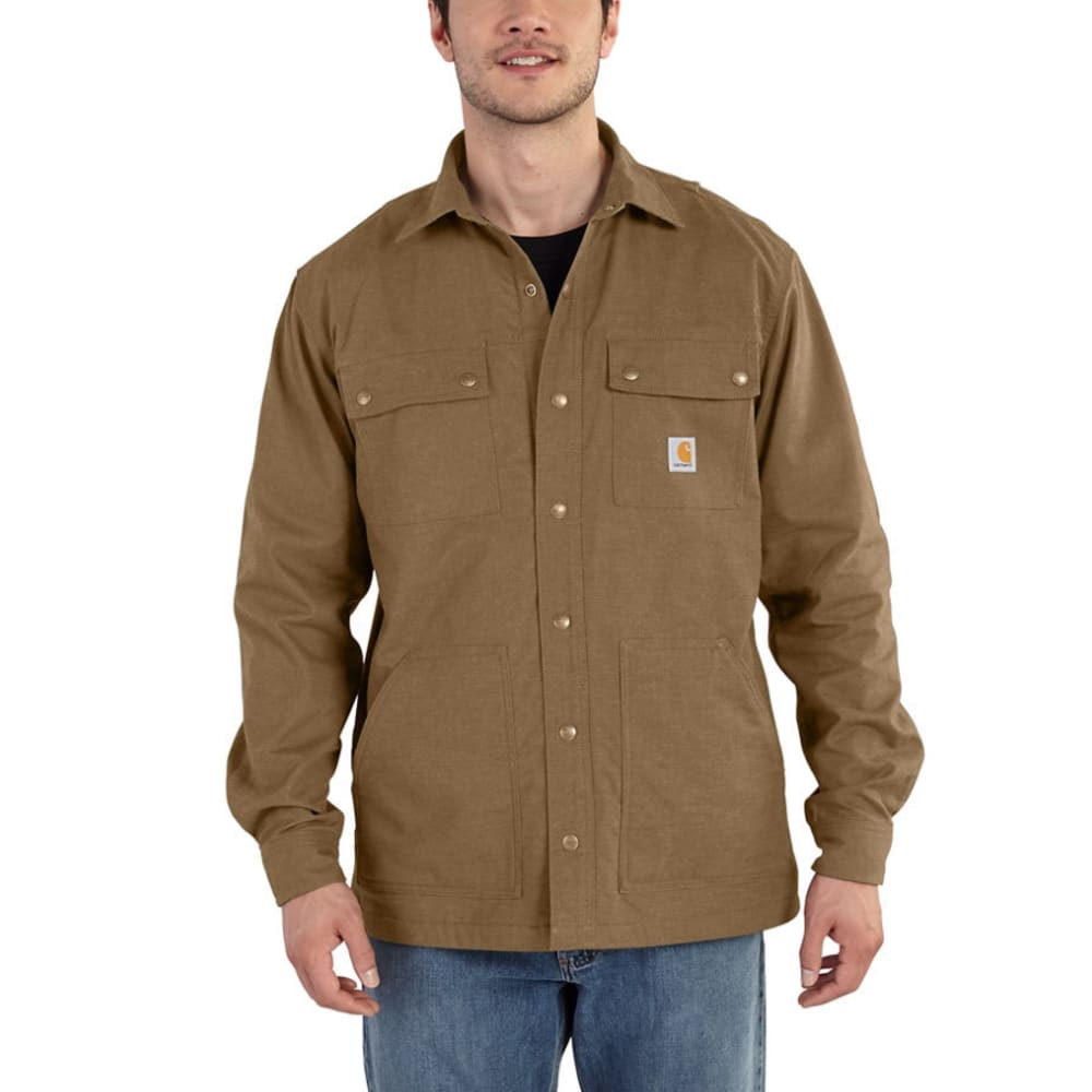 CARHARTT Men's Full Swing Cryder Shirt Jacket - BIRCH