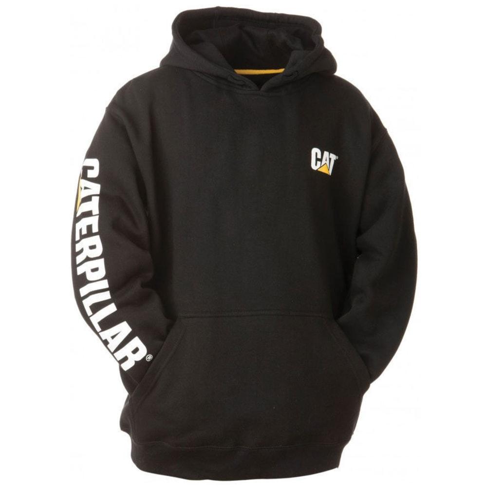 CAT Men's Trademark Banner Hooded Sweatshirt - 016 BLACK