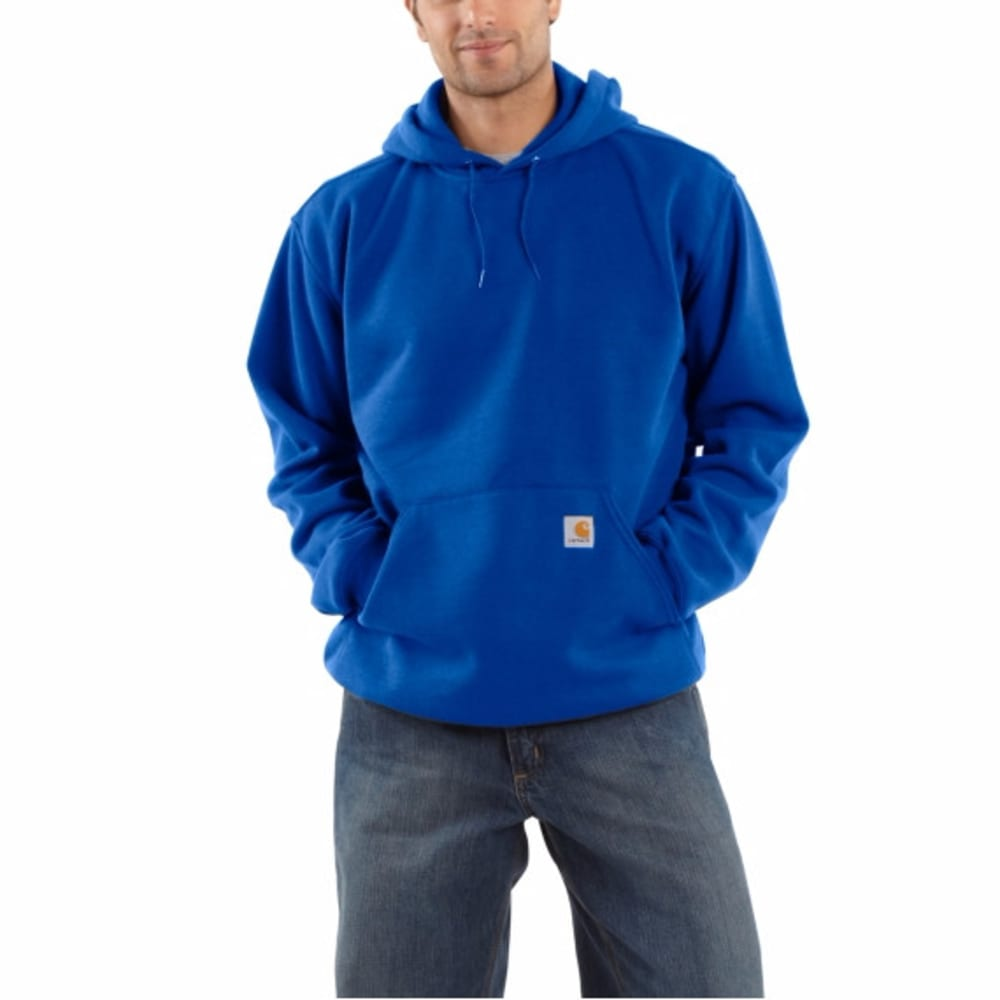 CARHARTT Men's Midweight Hooded Pullover Sweatshirt - NAVY