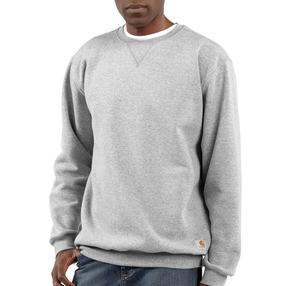 CARHARTT Men's Crewneck Sweatshirt - HEATHER GREY