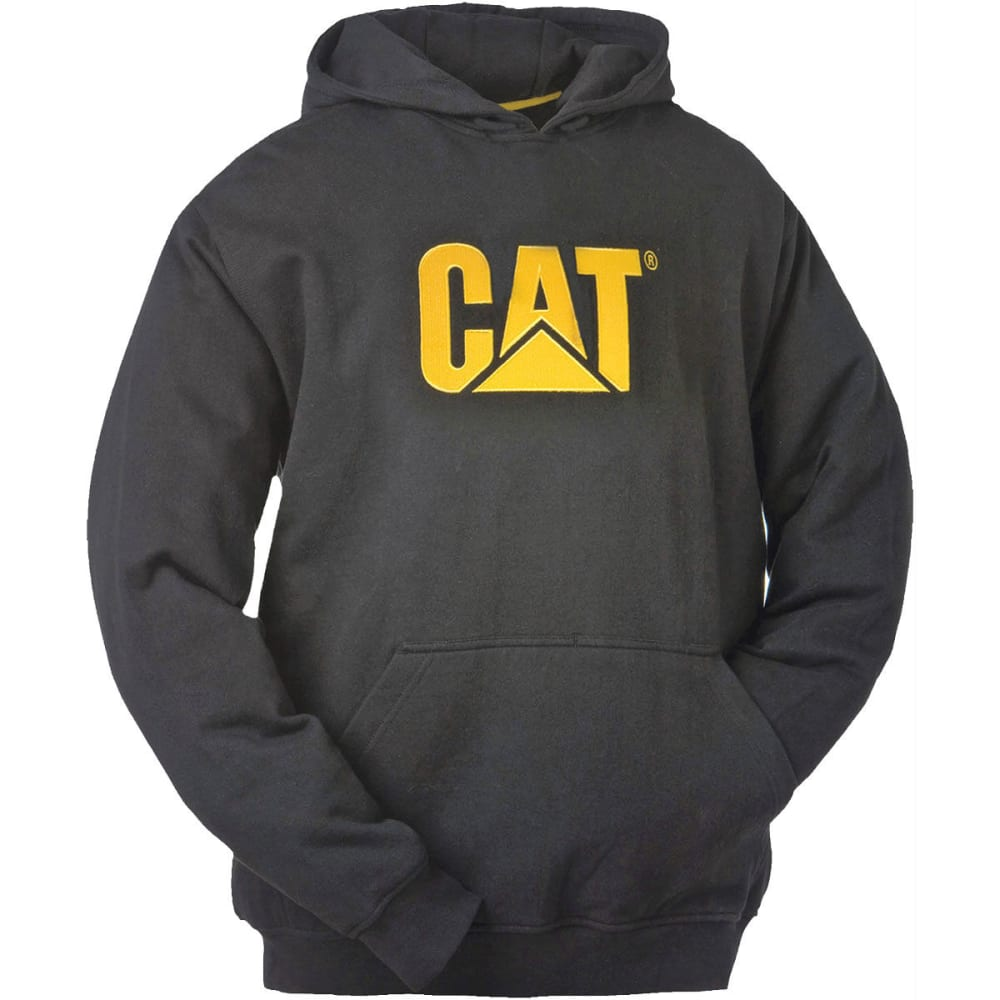 CAT Men's Trademark Hooded Sweatshirt - 016BLACK