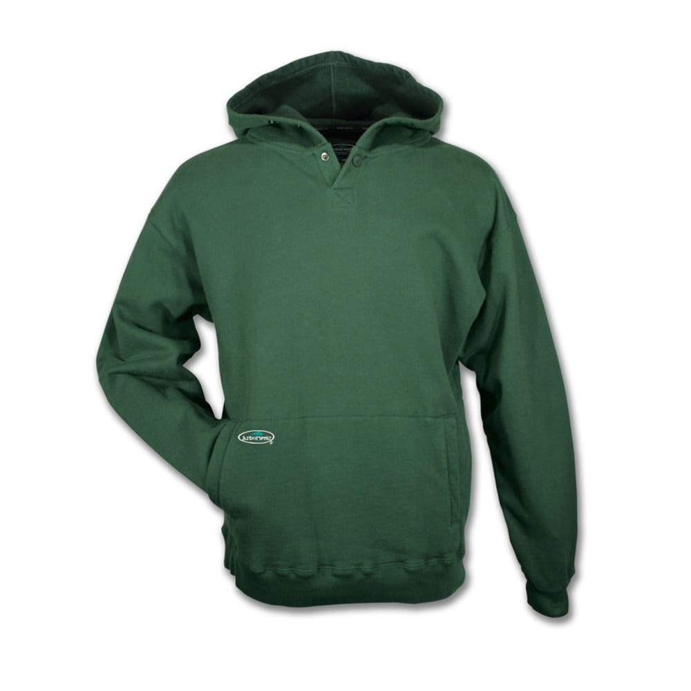ARBORWEAR Men's Double Thick Pullover Sweatshirt - FOREST GREEN