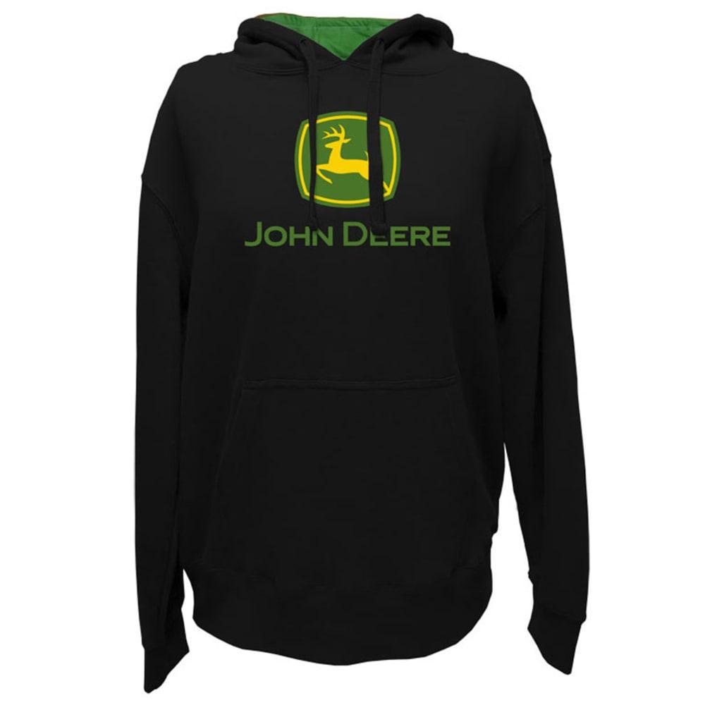 JOHN DEERE Men's Core Screen Print Chest Logo Sweatshirt - BLACK