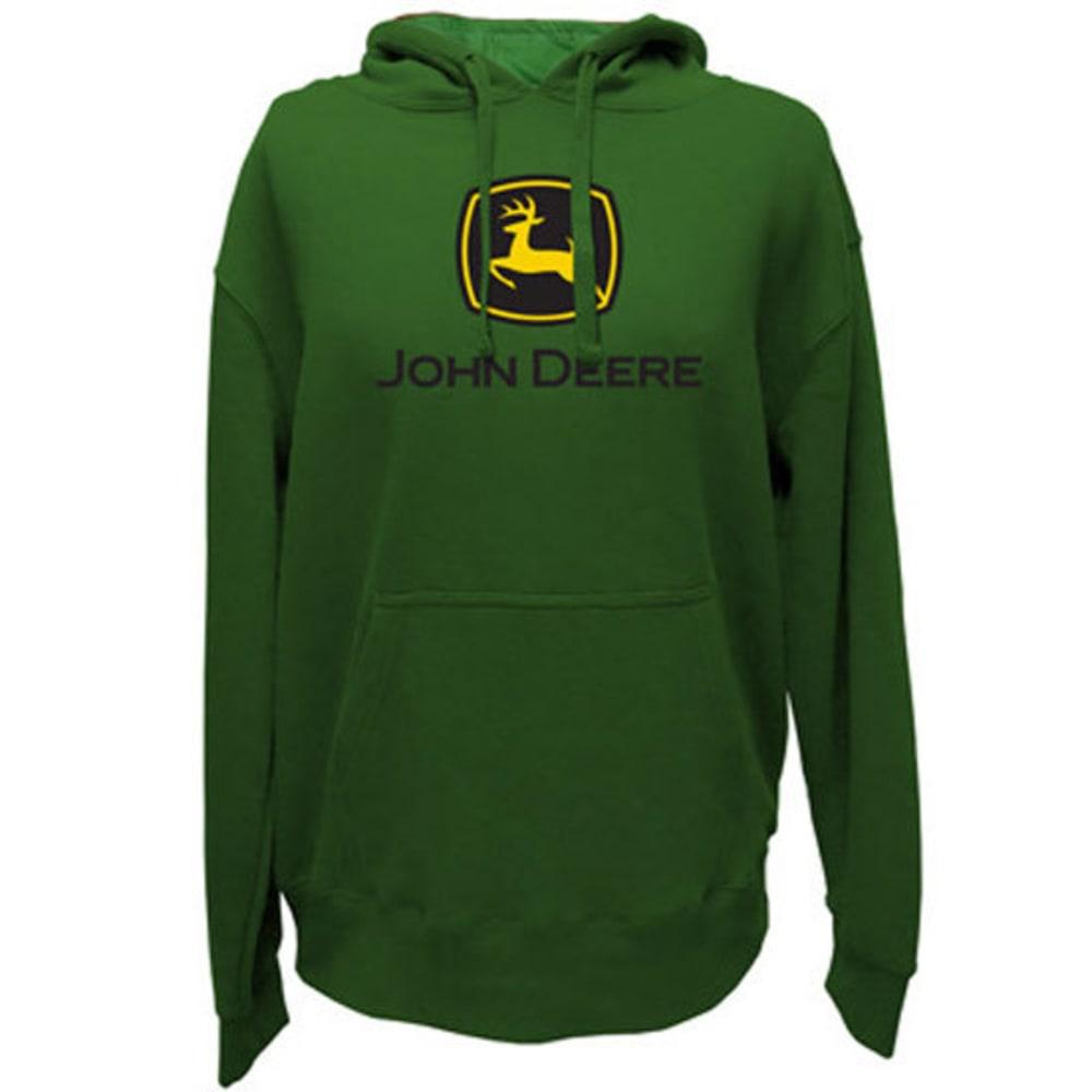 JOHN DEERE Men's Core Screen Print Chest Logo Sweatshirt - GREEN