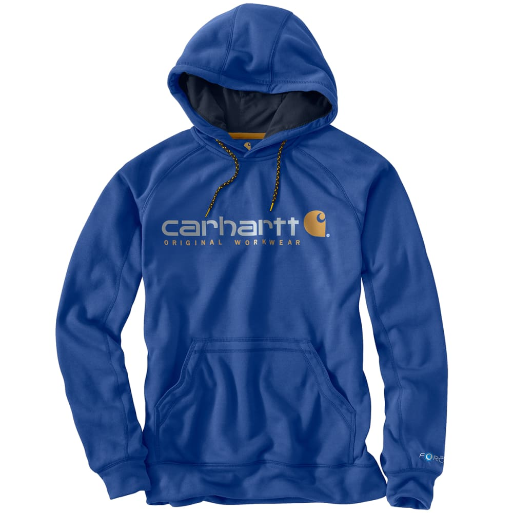 CARHARTT Men's Force Alberton Long Sleeve Hoody - NOON BLUE