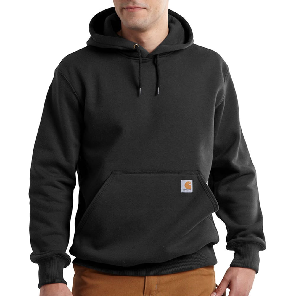 Carhartt Men's Paxton Hooded Sweatshirt - Black, L