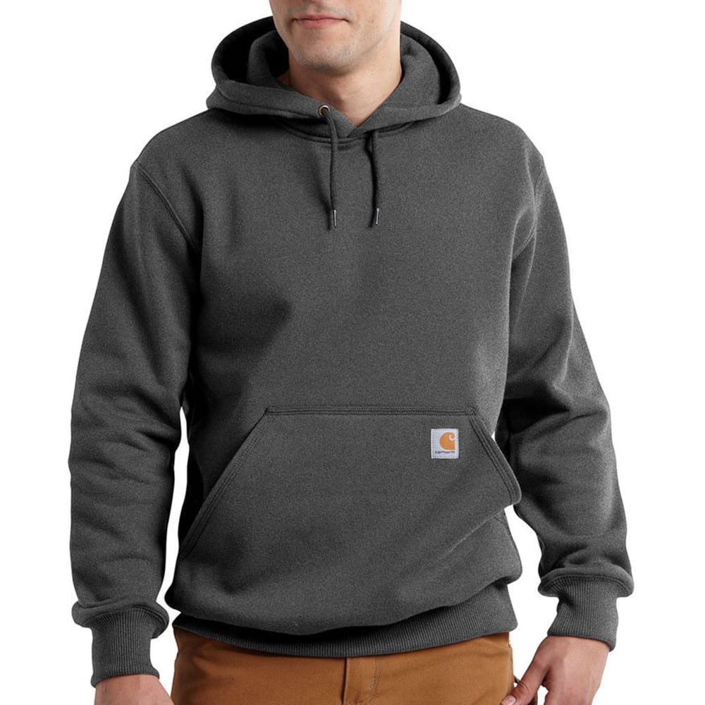 CARHARTT Men's Paxton Hooded Sweatshirt - 026 CARBON HEATHER