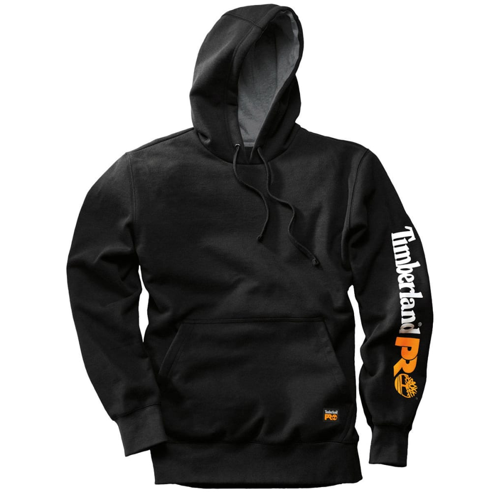 TIMBERLAND PRO Men's Hood Honcho Pullover Hoodie - JET BLACK