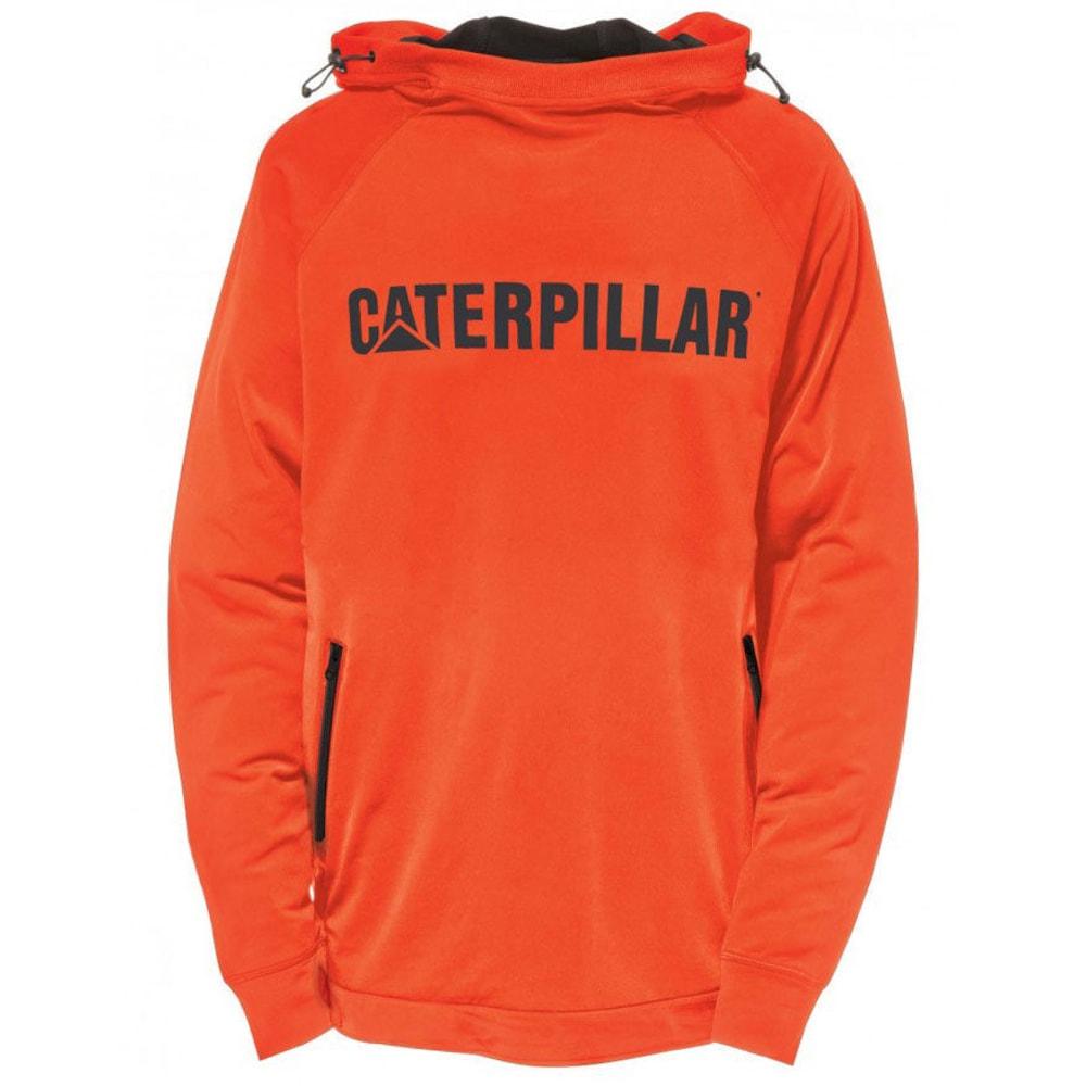 CATERPILLAR Men's Contour Pullover Sweatshirt - 10102 ADOBE ORNG