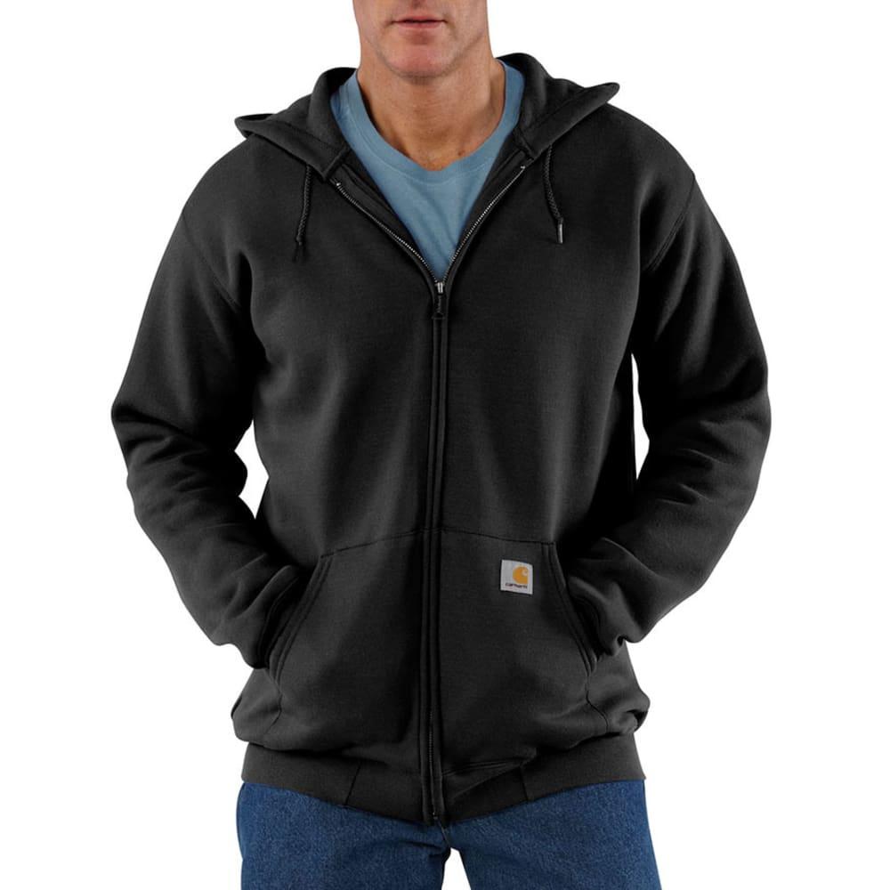 CARHARTT Men's Hooded Sweatshirt - BLACK