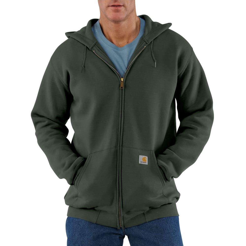 CARHARTT Men's Hooded Sweatshirt - OLIVE