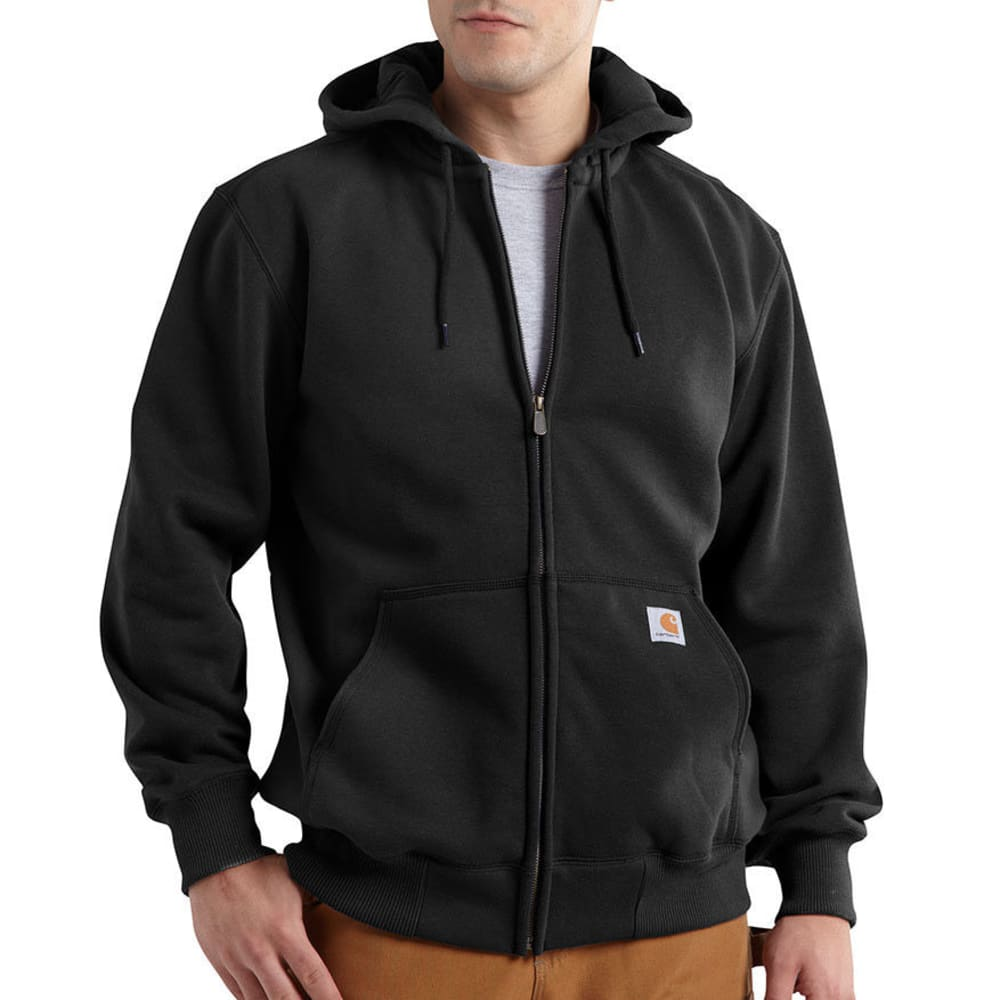 Carhartt Men's Paxton Hood Zip-Front Sweatshirt - Black, M