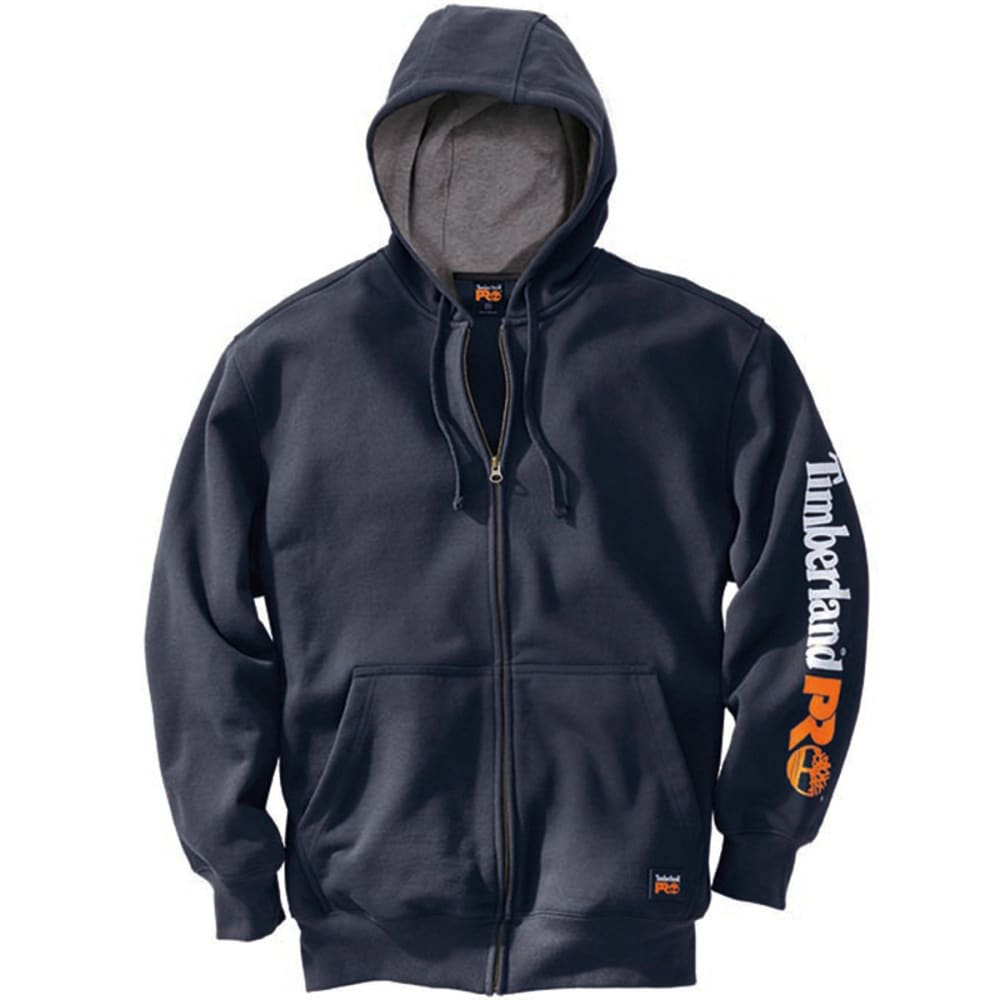 TIMBERLAND PRO Men's Hood Honcho Water Repellant Full Zip Hoodie - DK NAVY 434