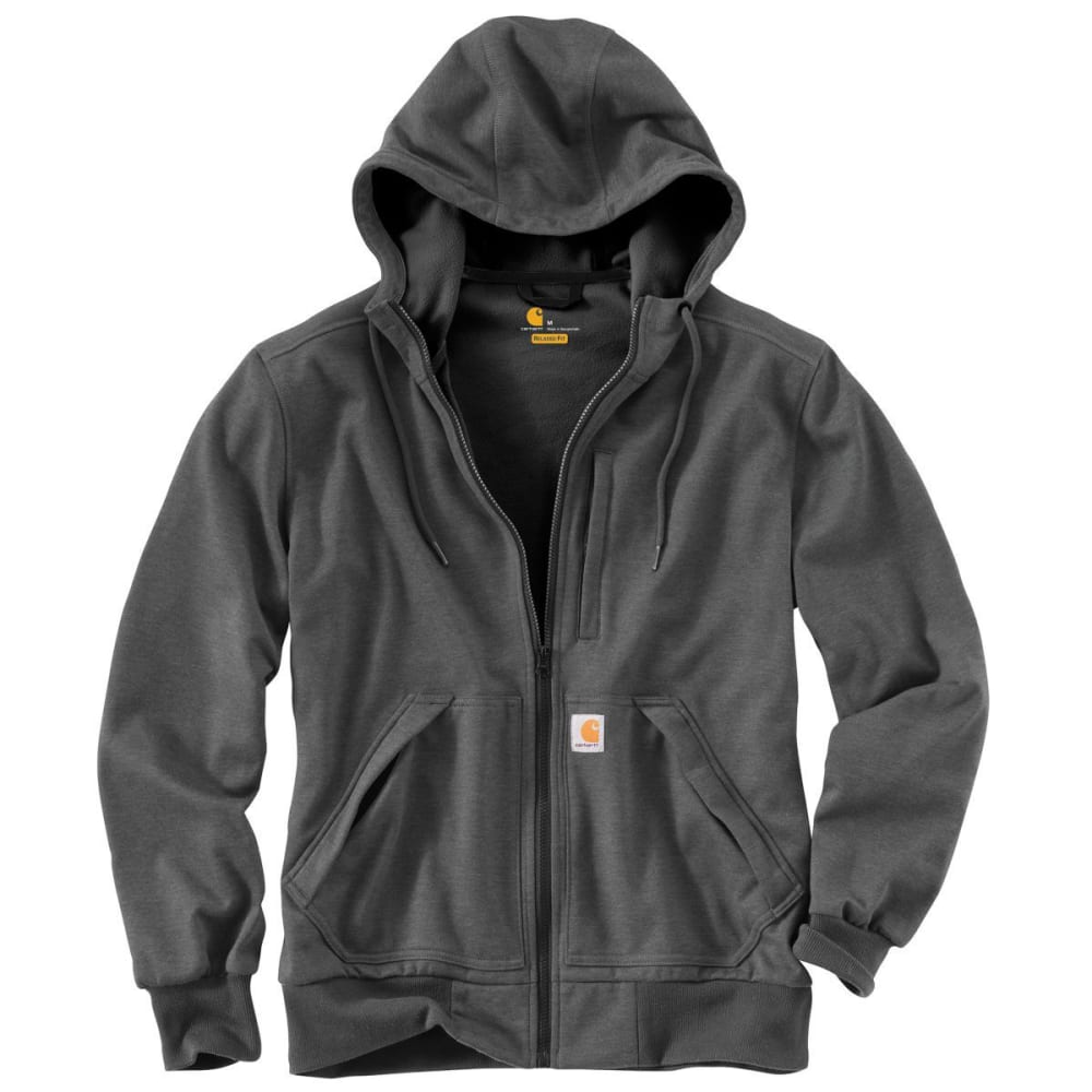 CARHARTT Men's Wind Fighter Sweatshirt - CARBON HEATHER