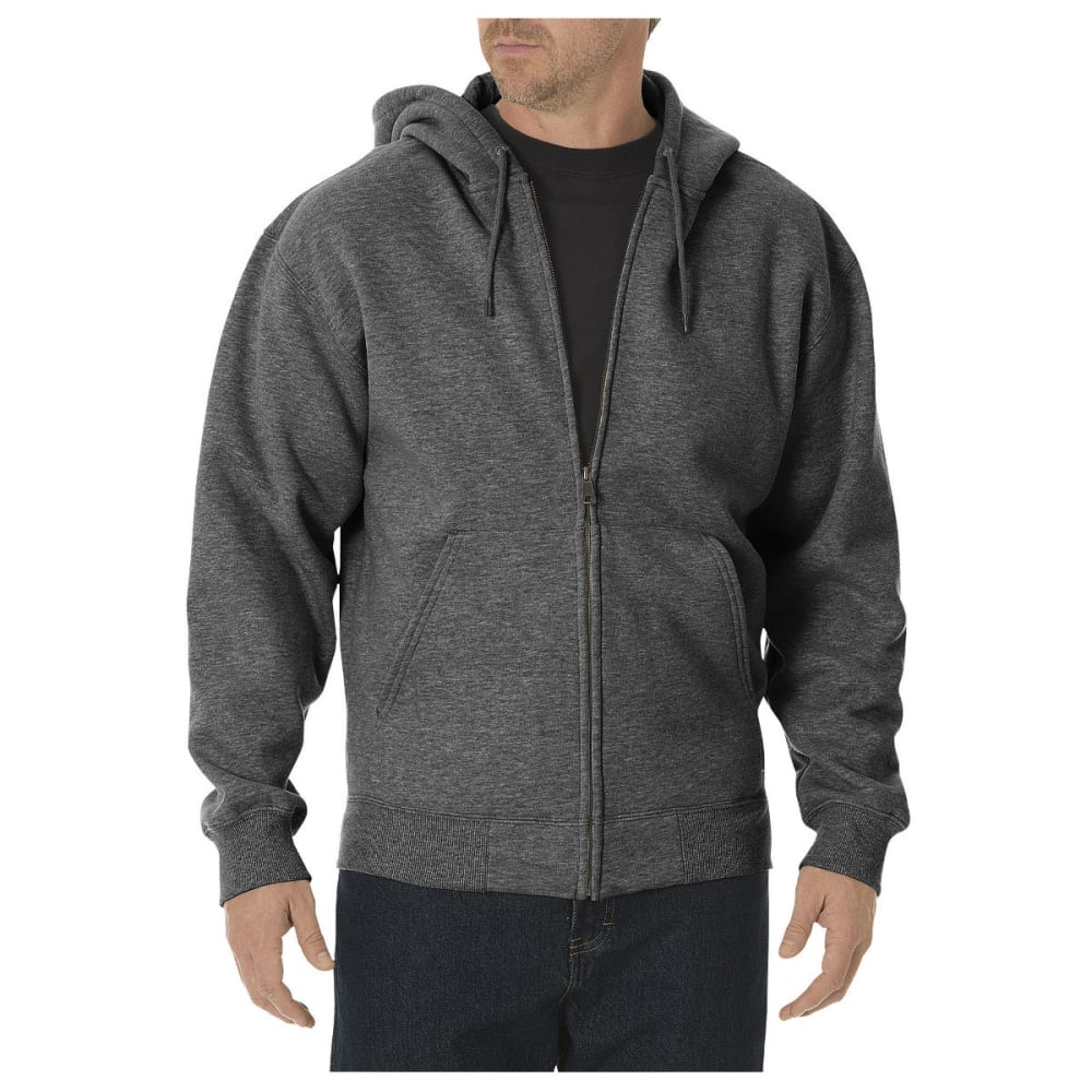 DICKIES Men's Midweight Fleece Full Zip Hoodie S