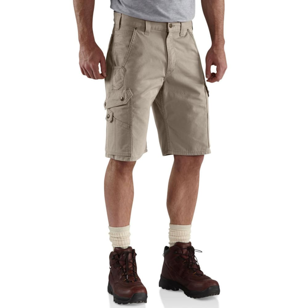 CARHARTT Men's Ripstop Work Shorts - DESERT