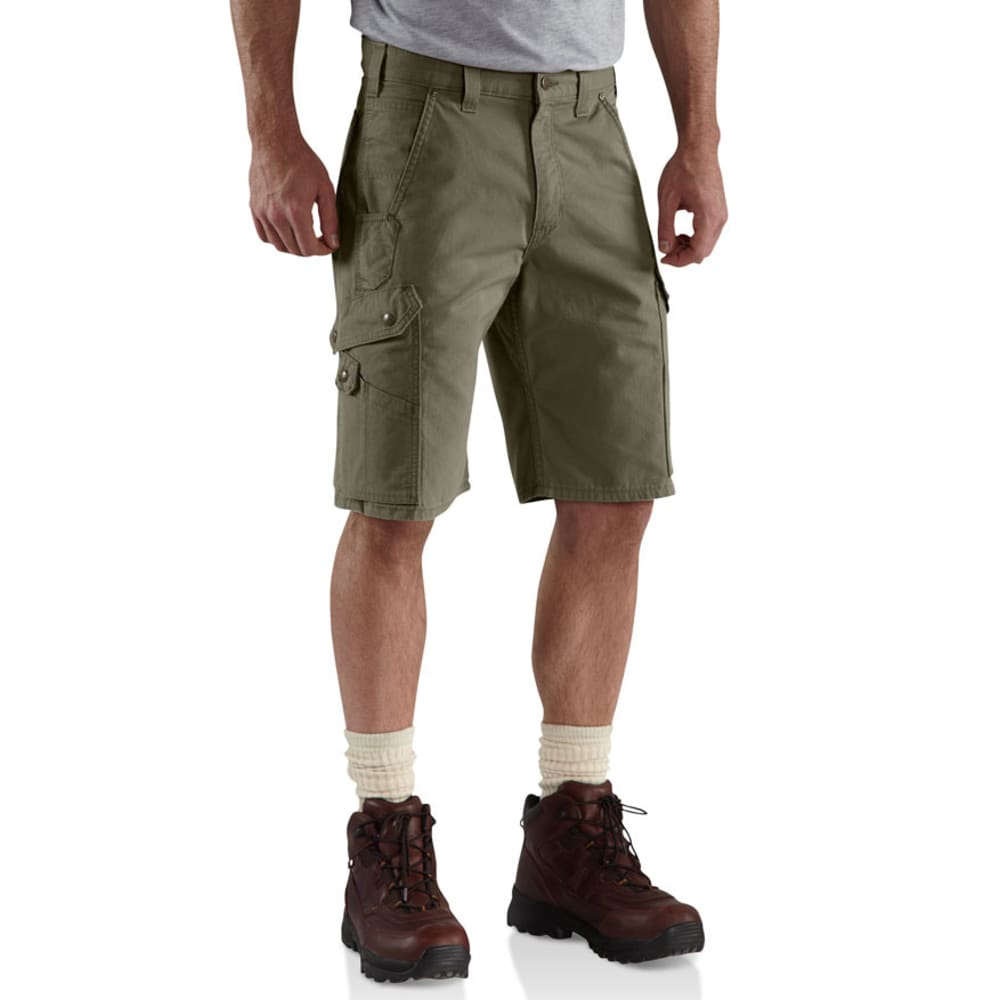 CARHARTT Men's Ripstop Work Shorts - MOSS