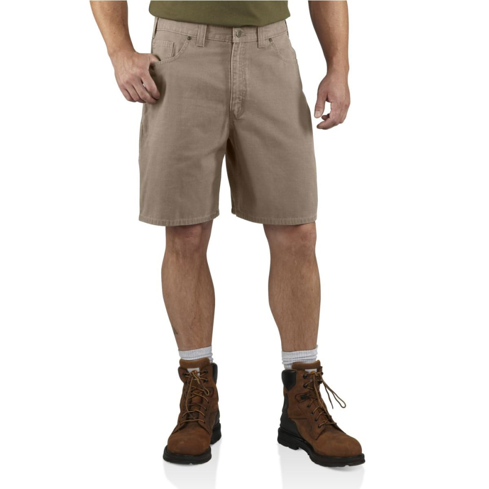 CARHARTT Men's Ripstop Cell Phone Shorts - DESERT