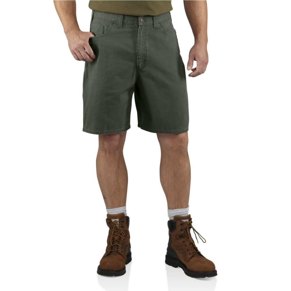 CARHARTT Men's Ripstop Cell Phone Shorts - MOSS