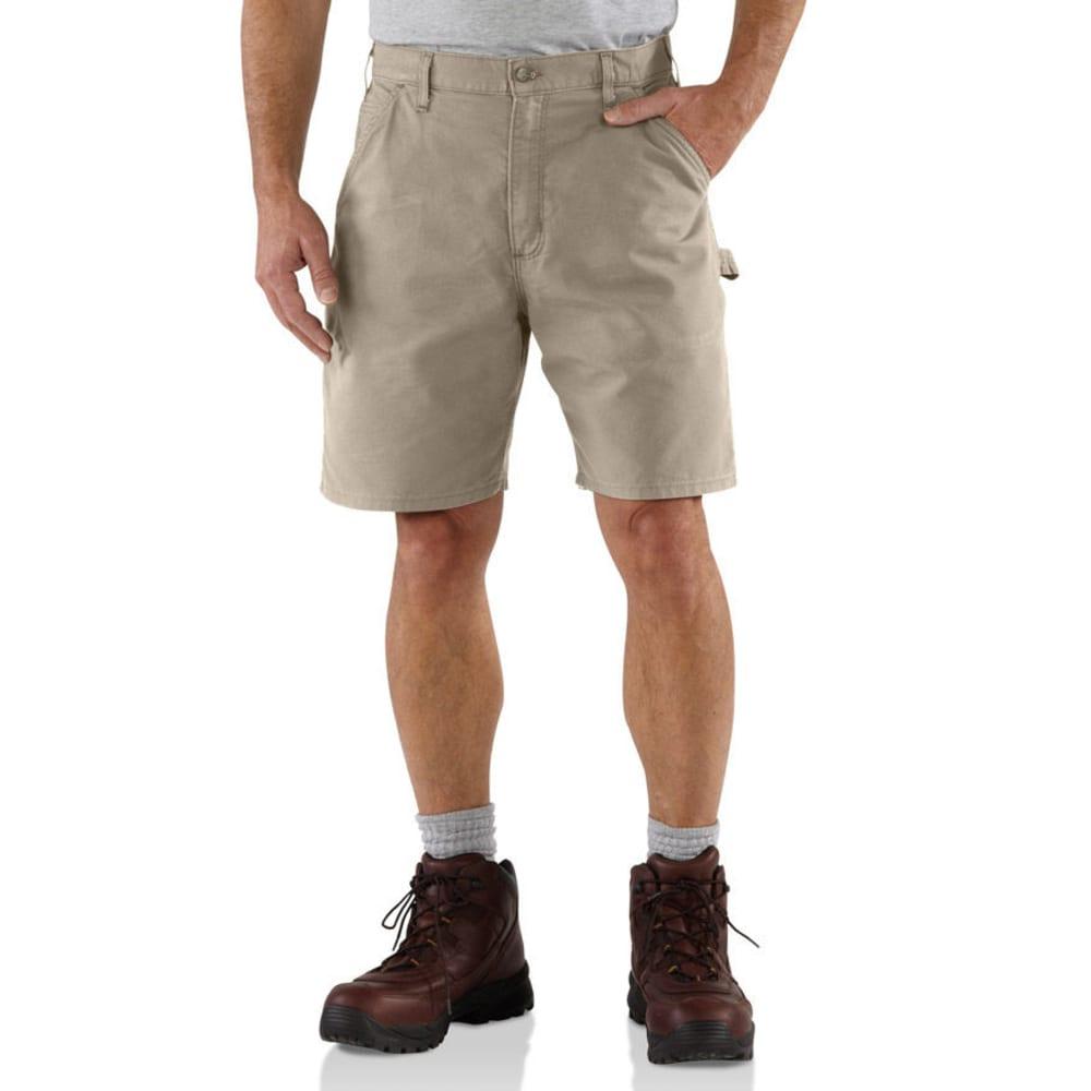 CARHARTT Men's Canvas Work Shorts, 8.5 in. Inseam - TAN TAN
