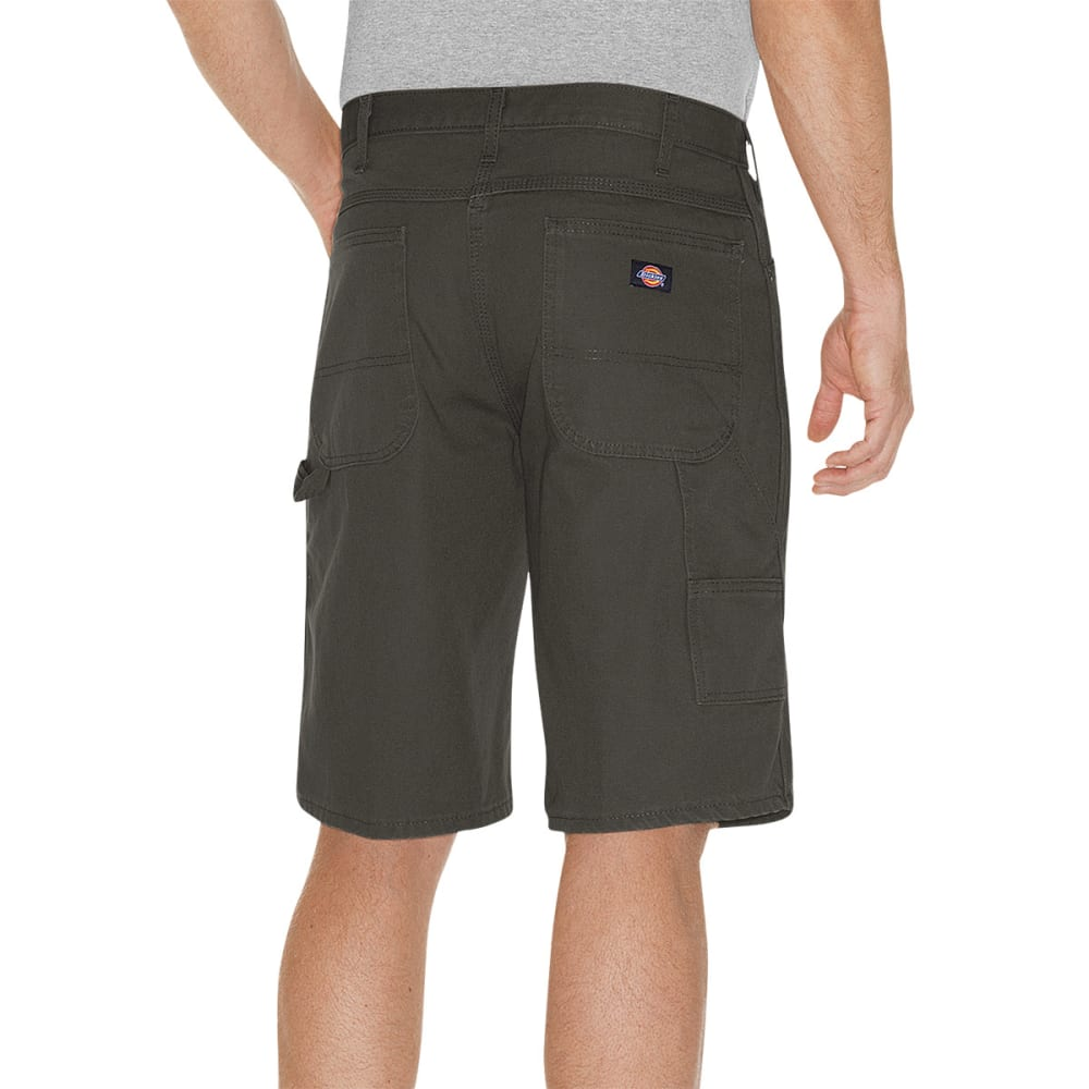 DICKIES Men's 11 in. Relaxed Fit Carpenter Shorts - ALGAE