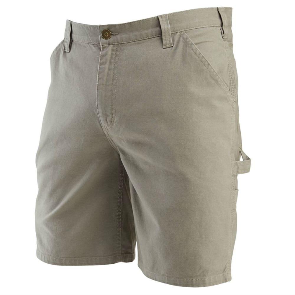 WOLVERINE Men's Denim Hammer Loop Work Shorts - 201 GRAVEL