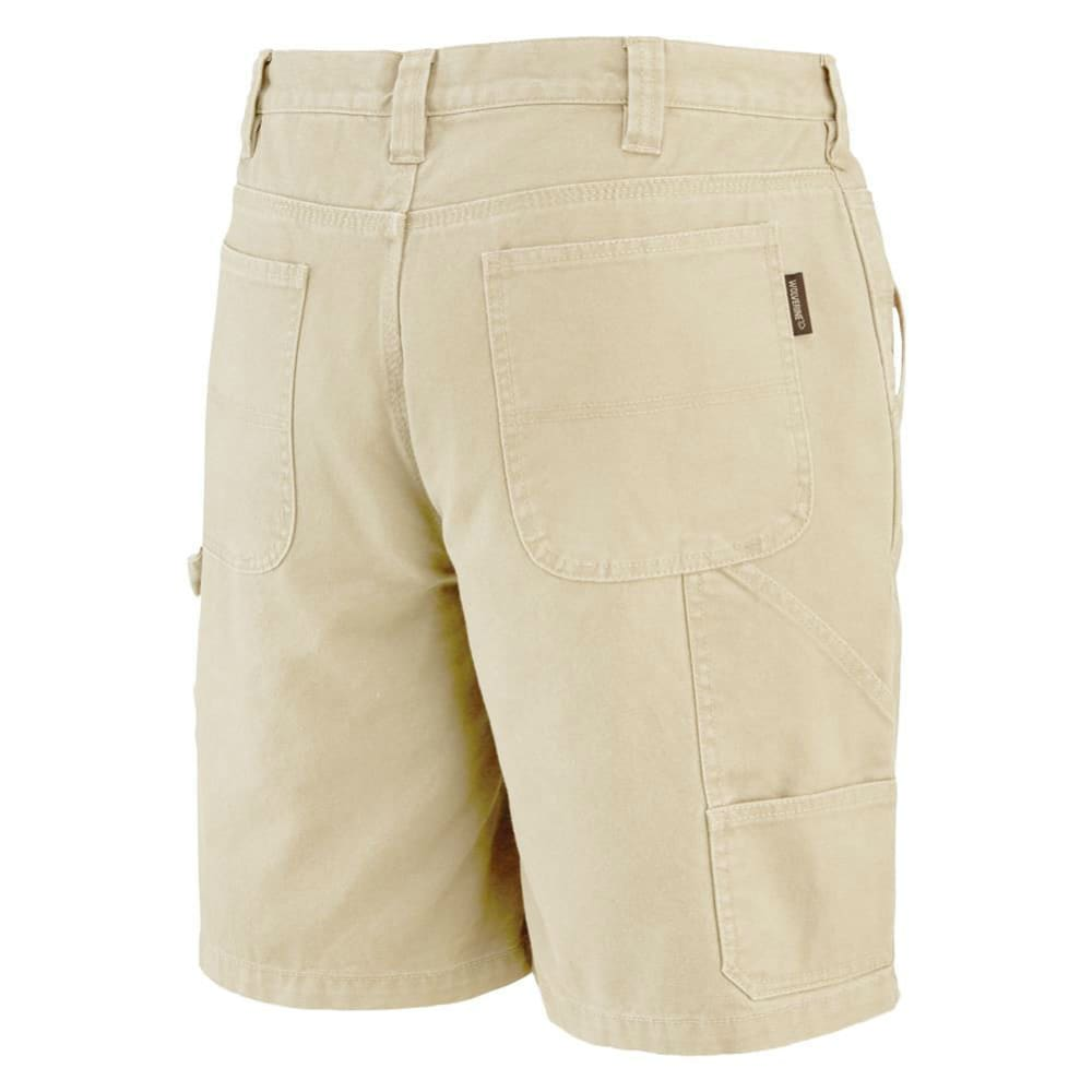 WOLVERINE Men's Denim Hammer Loop Work Shorts - 236 KHAKI