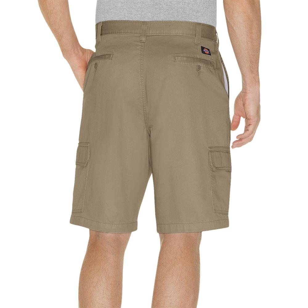 DICKIES Men's Loose Fit Cargo Shorts - RKH KHAKI