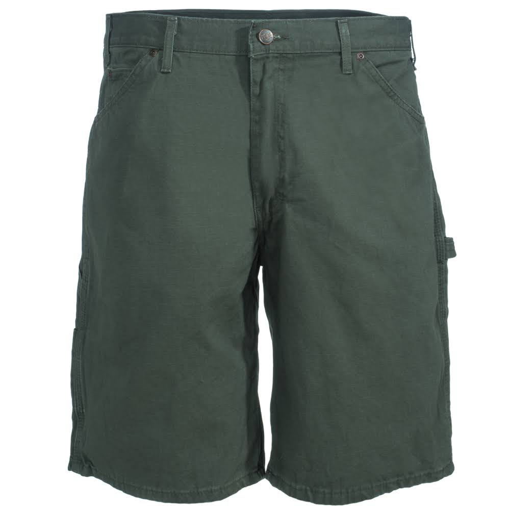 DICKIES Relaxed Fit Ripstop Carpenter Shorts - RMS MOSS