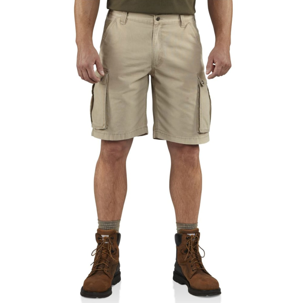 Carhartt Men's Rugged Cargo Shorts - Brown, 32