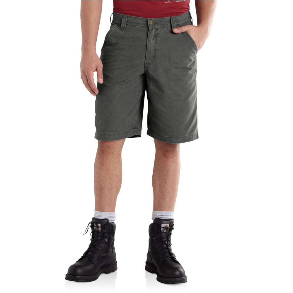 CARHARTT Men's Ardmore Khaki Shorts - GRAVEL