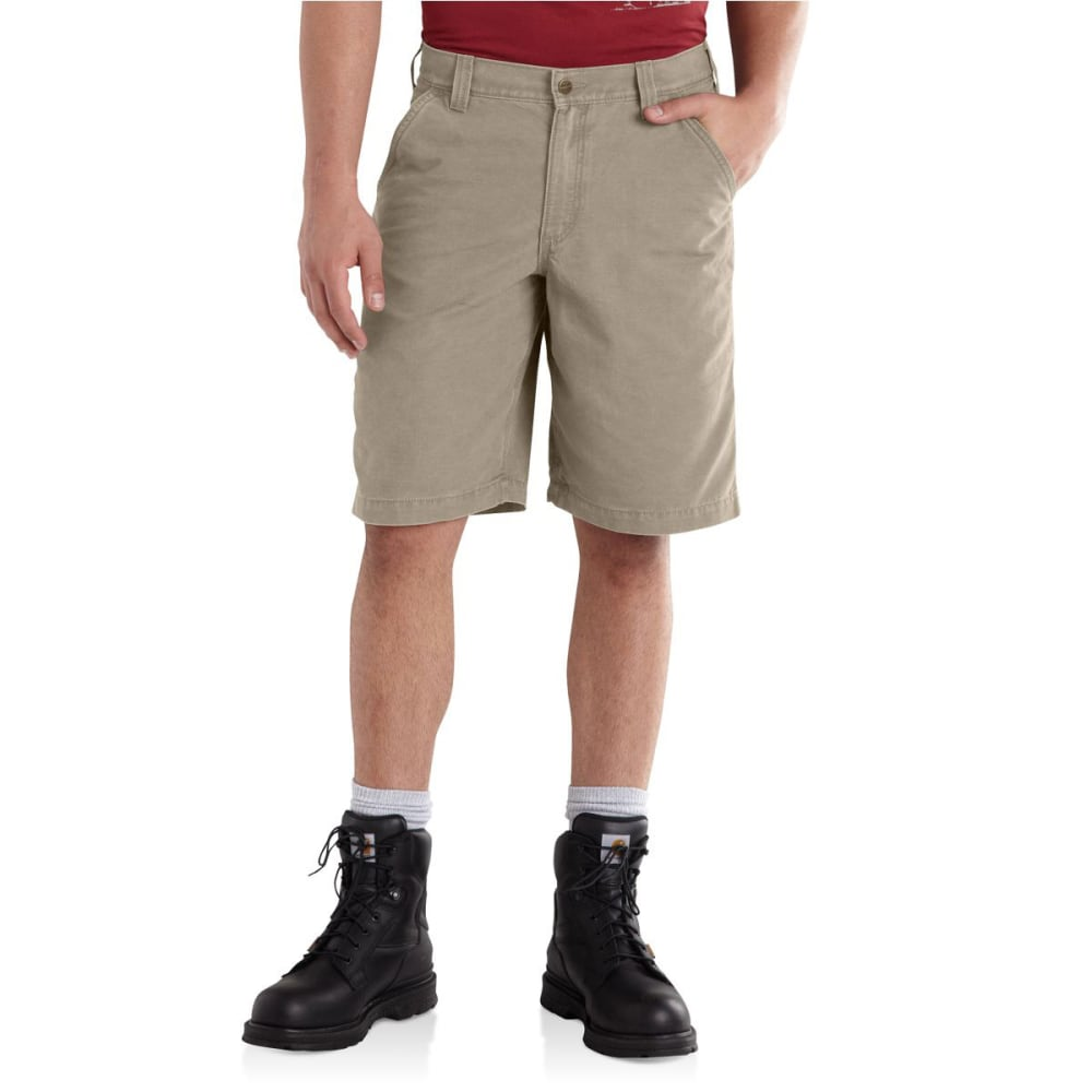 CARHARTT Men's Ardmore Khaki Shorts - TAN