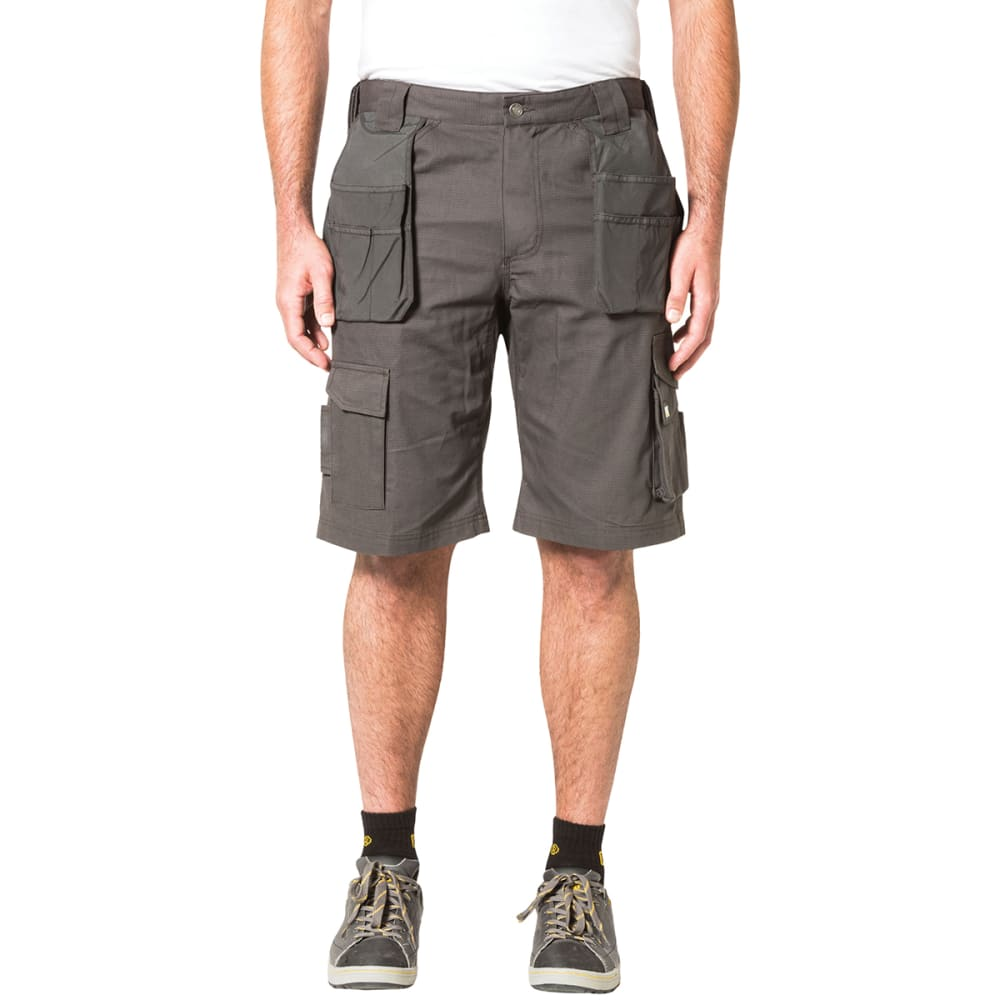 CAT Men's DL Trademark Shorts - GRAPHITE
