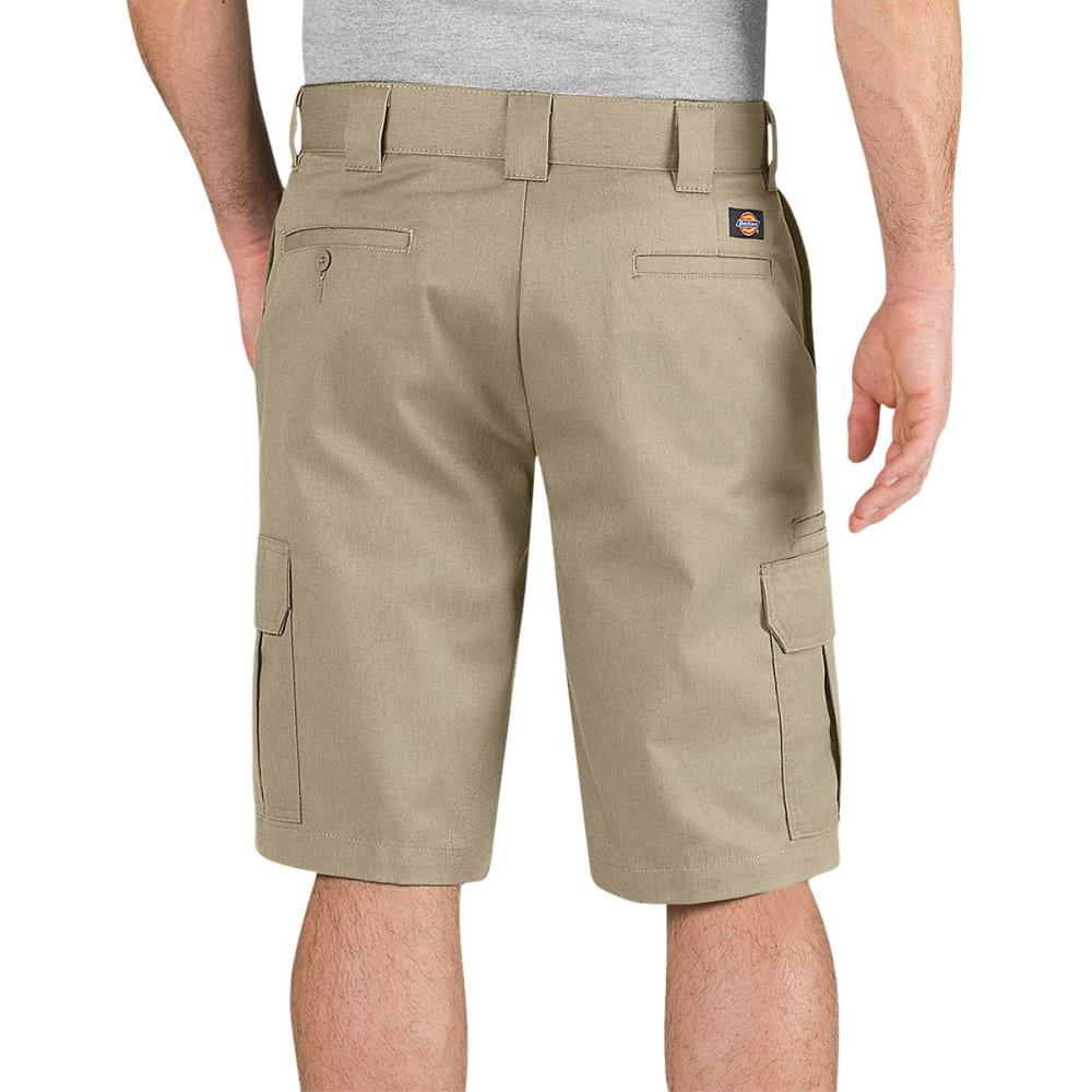 DICKIES Men's 11 in. Regular Fit Cargo Shorts - DESERT SAND